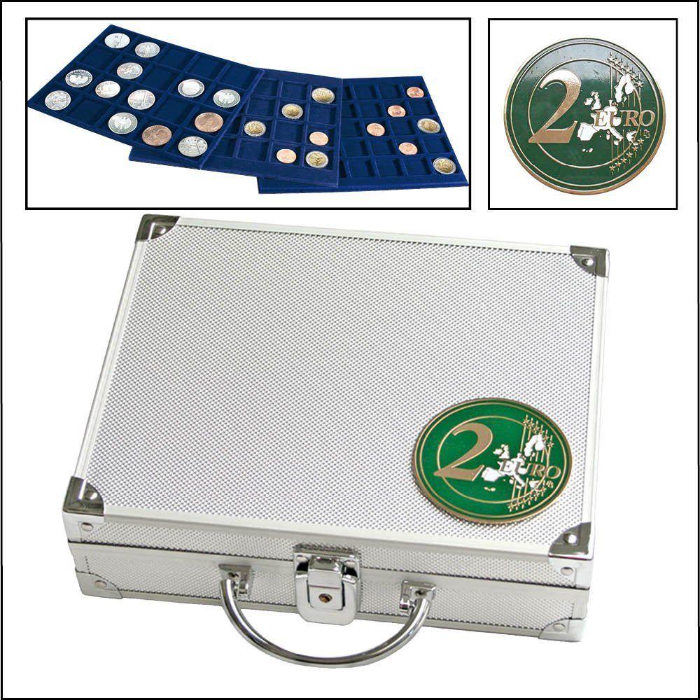 valise pi ces de monnaies pour 210 pi ces de 2 euros safe. Black Bedroom Furniture Sets. Home Design Ideas