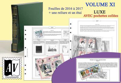 Album France Luxe 11 - 2016/2017 pour Timbres AV