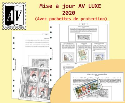 Feuilles France 2020 pour Timbres AV Editions