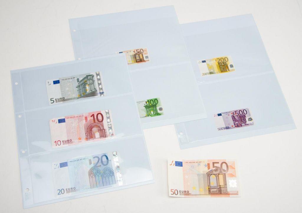 Gaines Feuilles Billets de Banque Euro