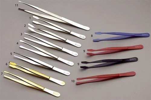 Pinces Colorées Bout Carré 12cm No.K54