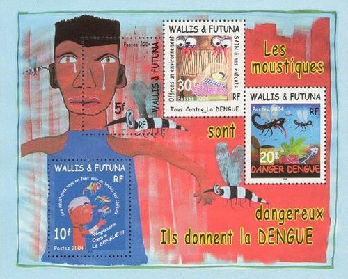 Timbre Bloc 14 Wallis et Futuna 2004