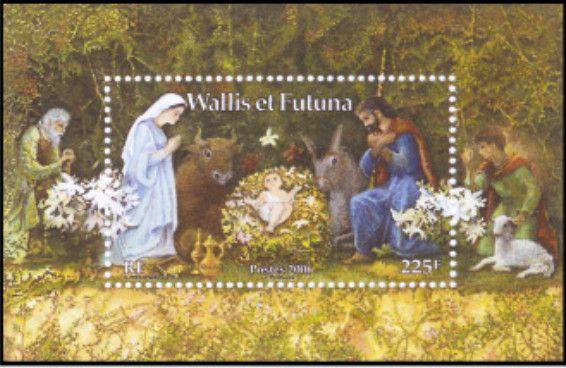 Timbre Bloc 21 Wallis et Futuna 2006