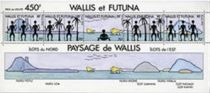 Timbre Bloc 6 Wallis et Futuna 1992