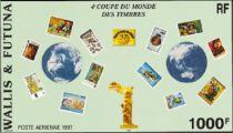 Timbre Bloc 7 Wallis et Futuna 1997
