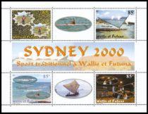 Timbre Bloc 9 Wallis et Futuna 2000
